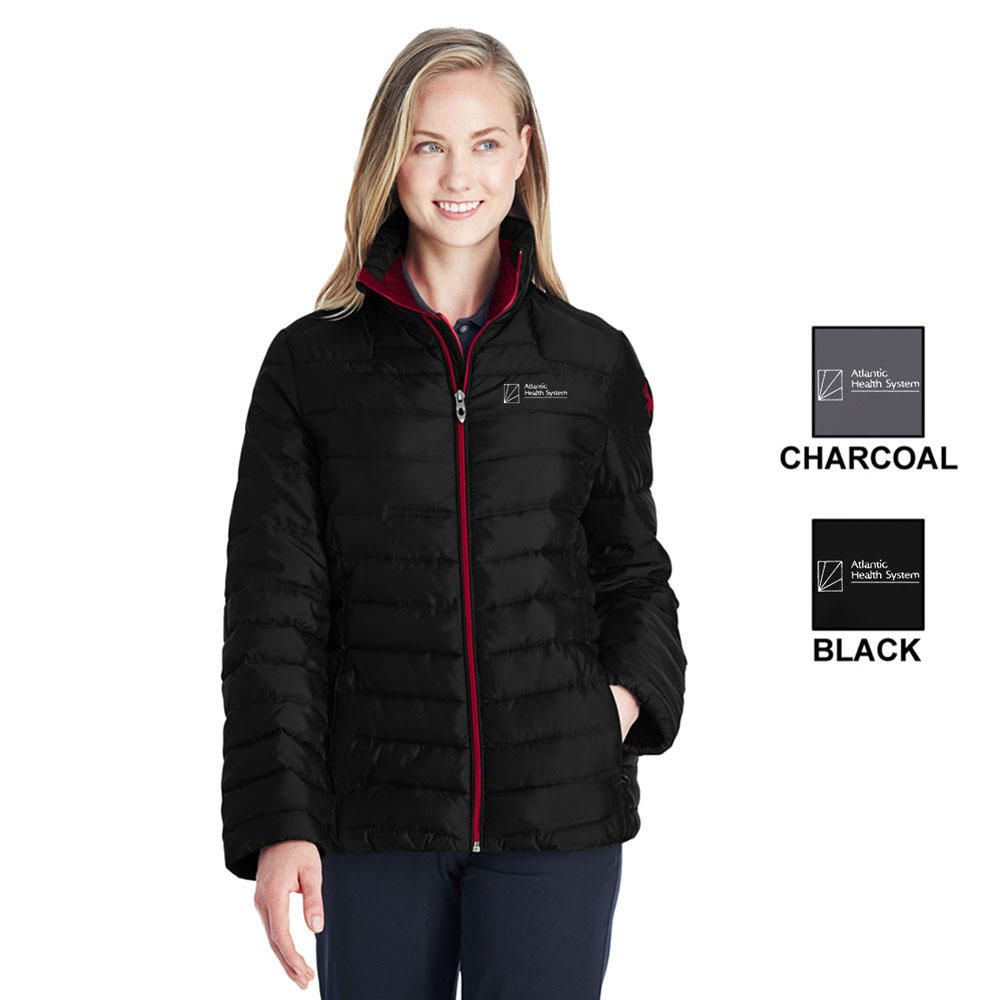 LADIES  INSULATED PUFFER JACKET
