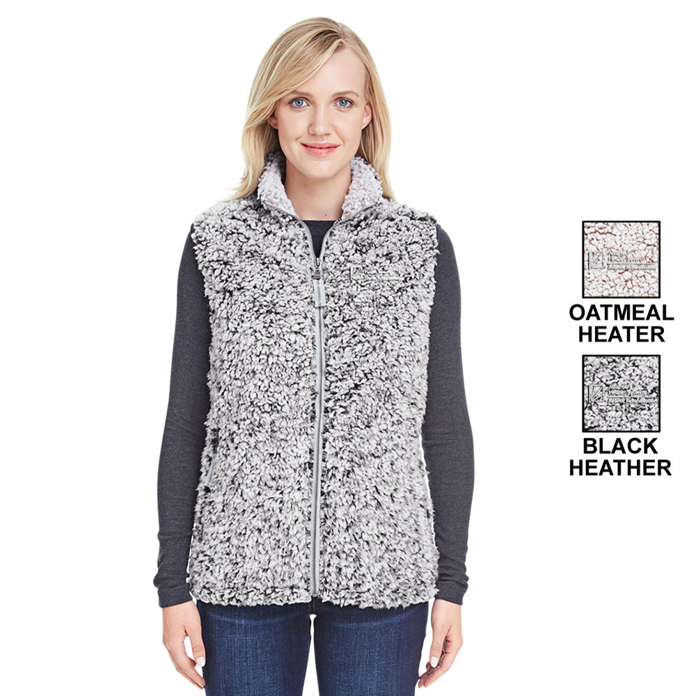 LADIES EPIC SHERPA FLEECE VEST