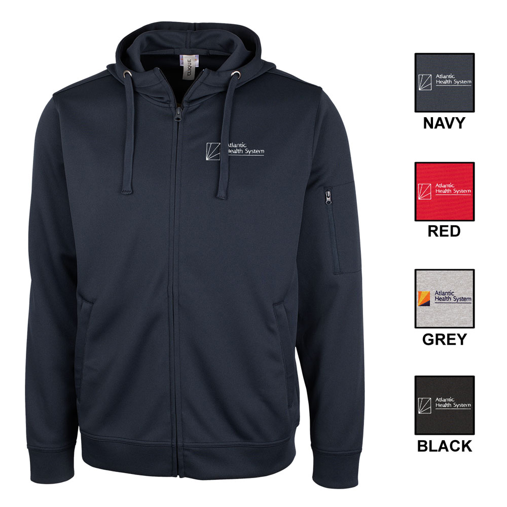 CUTTER & BUCK LIFT PERFORMANCE FULL-ZIP HOODIE