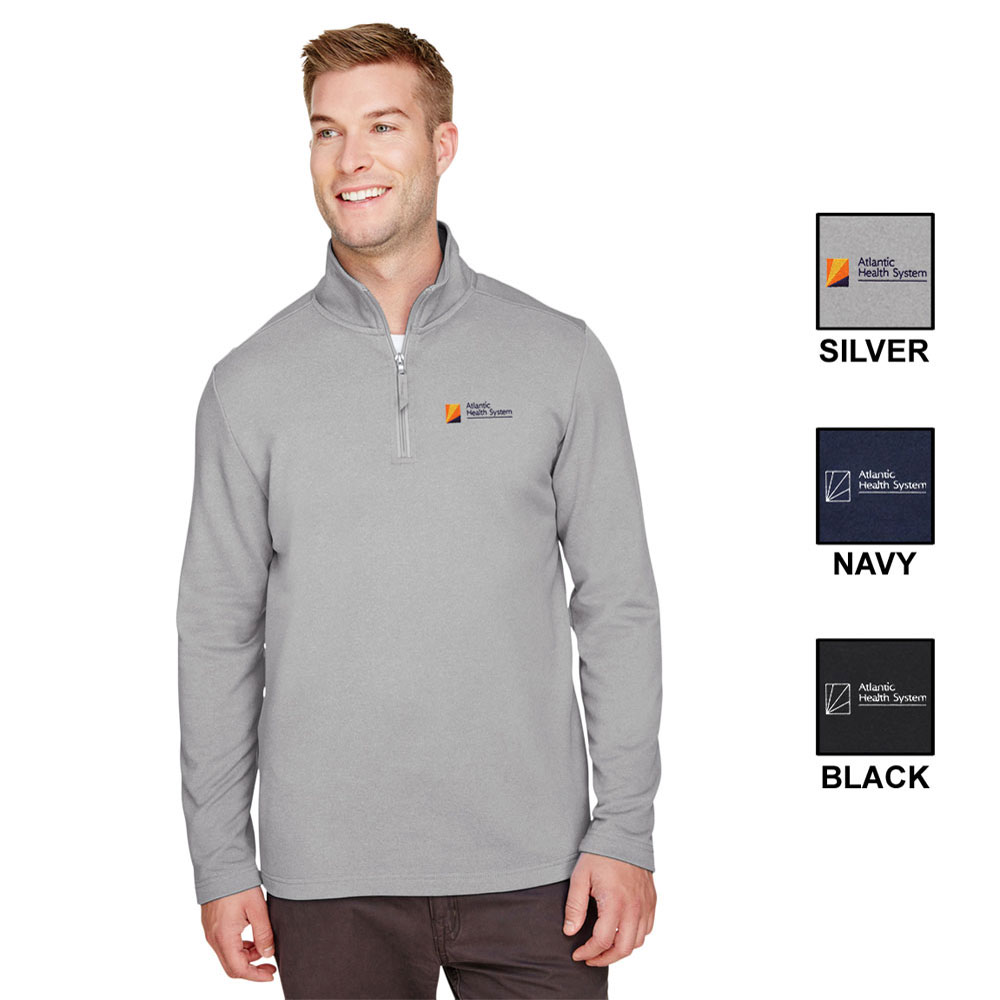 MEN'S UNLTRACLUB COASTAL PIQUE FLEECE 1/4 ZIP
