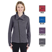 LADIES AMPLIFY MELANGE FLEECE JACKET