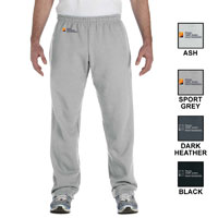ADULT OPEN-BOTTOM SWEATPANTS