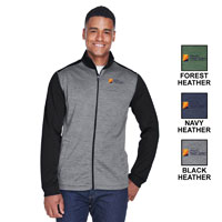 MEN'S DEVON & JONES FLEECE FULL-ZIP