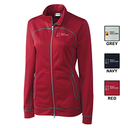 WOMEN'S CUTTER & BUCK HELSA FULL-ZIP