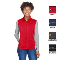 LADIES TWO-LAYER FLEECE VEST